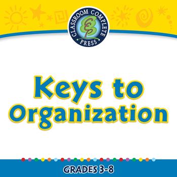 Critical Thinking: Keys to Organization - PC Gr. 3-8