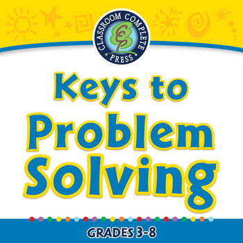 Critical Thinking: Keys to Problem Solving - NOTEBOOK Gr. 3-8