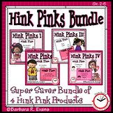 HINK PINKS BUNDLE Critical Thinking Vocabulary Development GATE Enrichment