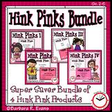 HINK PINK PUZZLES BUNDLE Word Riddles Task Cards Vocabulary Development GATE