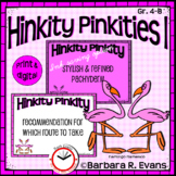 HINKITY PINKITIES I Critical Thinking Vocabulary GATE HOTS Enrichment