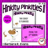 Critical Thinking Kids Love -- HINKITY PINKITIES II