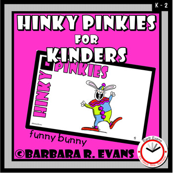 HINKY PINKIES for KINDERS Critical Thinking Vocabulary Syllables Rhymes