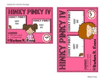 Critical Thinking Kids Love -- HINKY PINKY IV