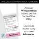 Critical Thinking & Higher-Level Language Flip Books {VALE