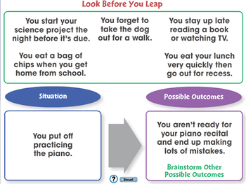Critical Thinking: Look Before You Leap - MAC Gr. 3-8