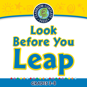 Critical Thinking: Look Before You Leap - NOTEBOOK Gr. 3-8