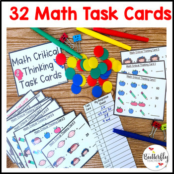 Critical Thinking Math Task Cards