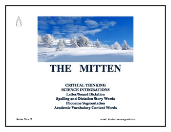 Critical Thinking, Mitten, Comprehension Story Cards, Science, Vocabulary,