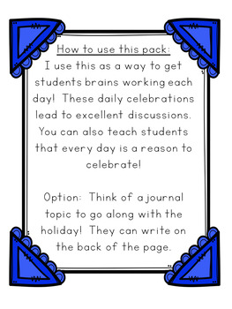 Critical Thinking Morning Work for August