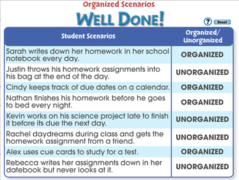 Critical Thinking: Organized Scenarios - MAC Gr. 3-8