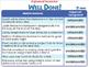 Critical Thinking: Organized Scenarios - NOTEBOOK Gr. 3-8