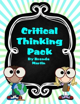 Critical Thinking Pack