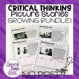 Critical Thinking Picture Stories Worksheets Using Real Ph