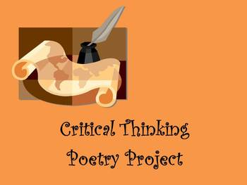 Critical Thinking Poetry Project