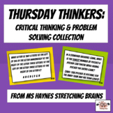 Thursday Thinkers: Critical Thinking & Problem Solving Collection
