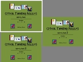 Critical Thinking Puzzles: Variety Bundle for Middle Schoolers (12 Puzzle Pages)