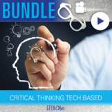 Critical Thinking QR Code Tech-Based Bundle