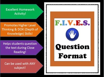 Scaffolding Questions - Critical Thinking