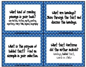 Critical Thinking Questions for  Non-Fiction Texts