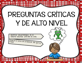 Critical Thinking Questions in Spanish