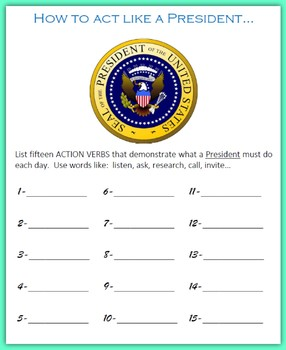 Critical Thinking Questions on Presidents' Day