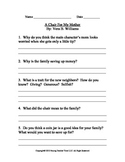 Critical Thinking Questions to: A Chair for My Mother By: Vera B. Williams