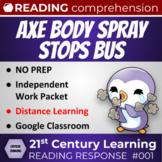 Critical Thinking Reading Response: Axe Body Spray stops a