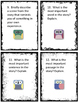 Critical Thinking Reading Response Cards