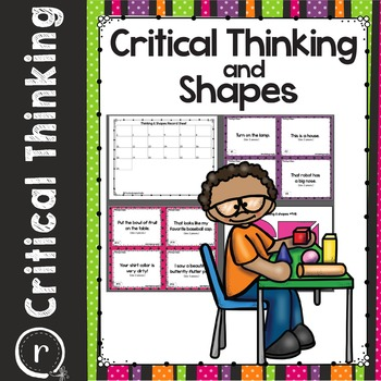 Critical Thinking Sentences and Shapes