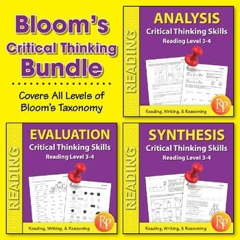 Bloom's Critical Thinking Skills {Bundle}