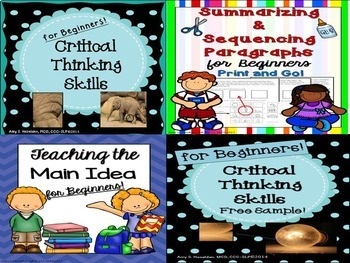 Critical Thinking Skills for Beginners Bundle