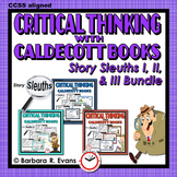 CALDECOTT BOOK ACTIVITIES BUNDLE Literature Extensions Critical Thinking GATE