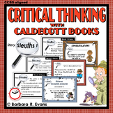 CALDECOTT BOOK ACTIVITIES Story Sleuths Set I Literature Extension GATE HOTS