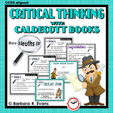 CALDECOTT BOOK ACTIVITIES Set III Literature Extension Critical Thinking GATE