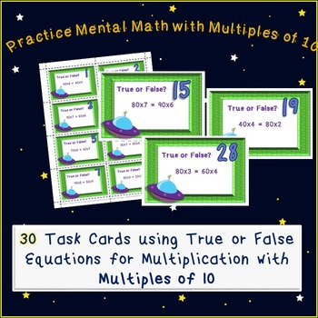 Multiplying with Multiples of 10