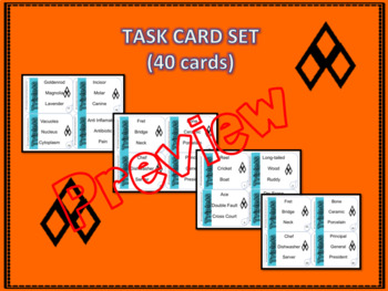 Critical Thinking Task Cards: Triplets