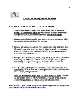Critical Thinking Via Reading & Writing Fiction