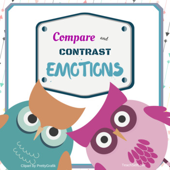 (FREE) Critical Thinking Worksheet - Compare and Contrast Emotions (Elementary)