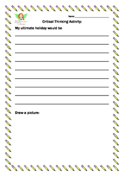 Critical Thinking Worksheets 1