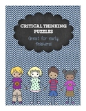 Critical Thinking activities Writing Perfect for Substitut