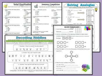Critical Thinking and Logical Reasoning Skills Practice Pack