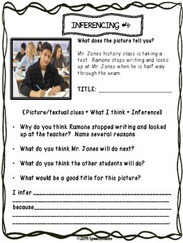 Critical Thinking at Cognition Valley High {Inferencing for Older Students}