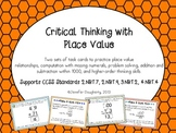 Critical Thinking with Place Value! Common Core Aligned