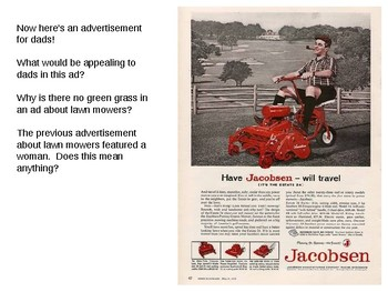 Critical Thinking with Print Advertisements -- Blended Learning for Students