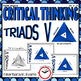 CRITICAL THINKING with TRIADS BUNDLE 2.0