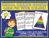 Critical Thinking Question Cards for Young Children - Heidi Songs