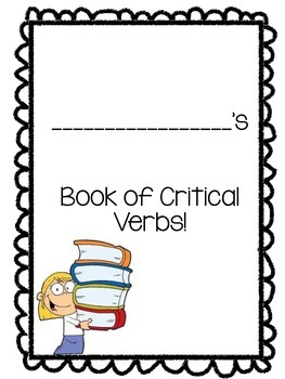 Critical Verb Booklet