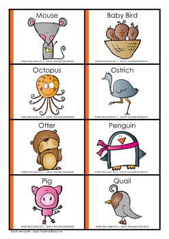 Critical and Creative Thinking Cards - Set 2 Living Things