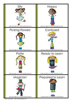 Critical and Creative Thinking Cards - Set 3 Action Kids
